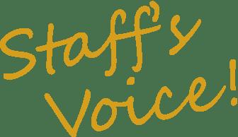 Staff's Voice!