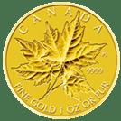 地金型金貨(現代)