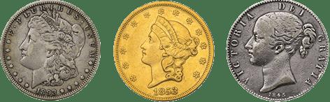 普通品コイン