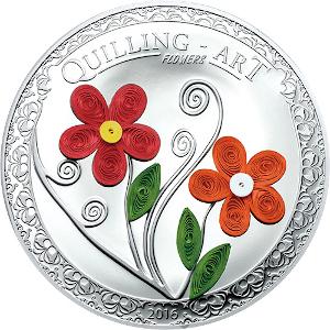 クイリングアートコイン