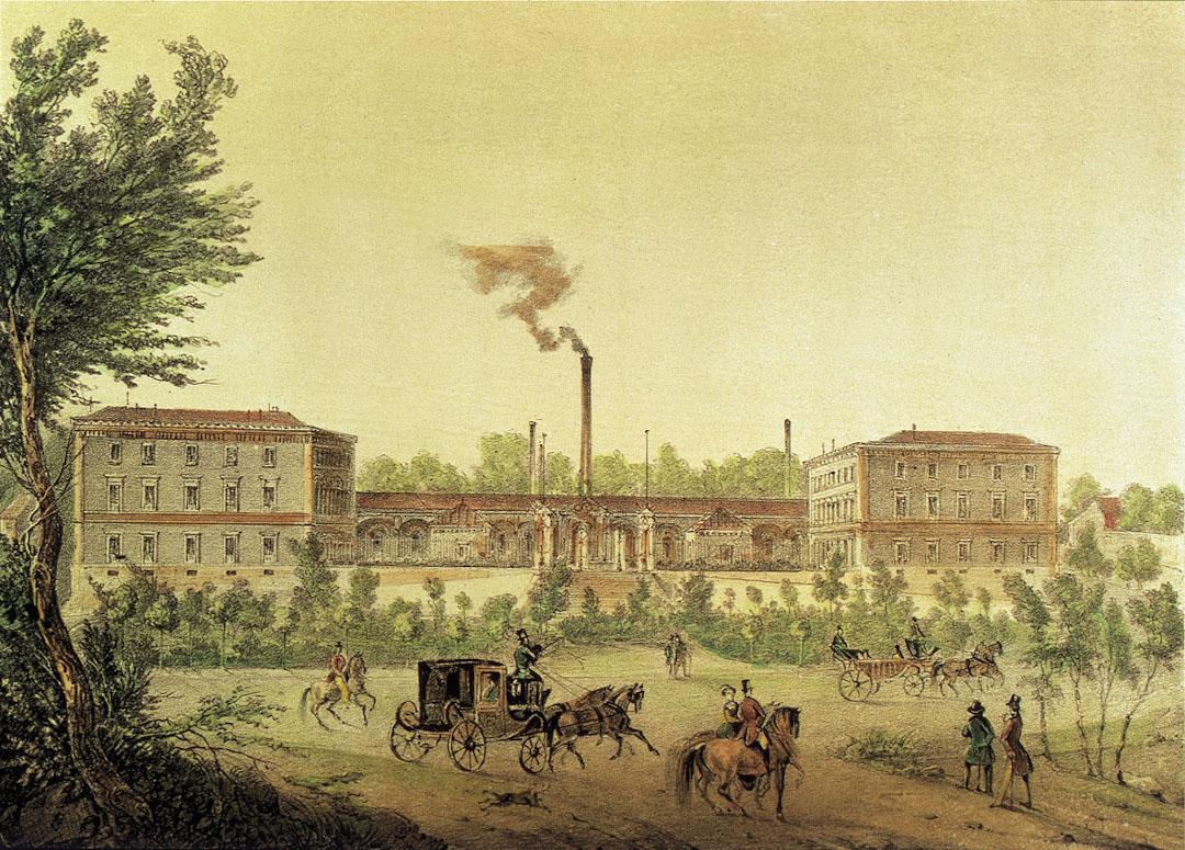 国立スペイン造幣局の旧刻印工場