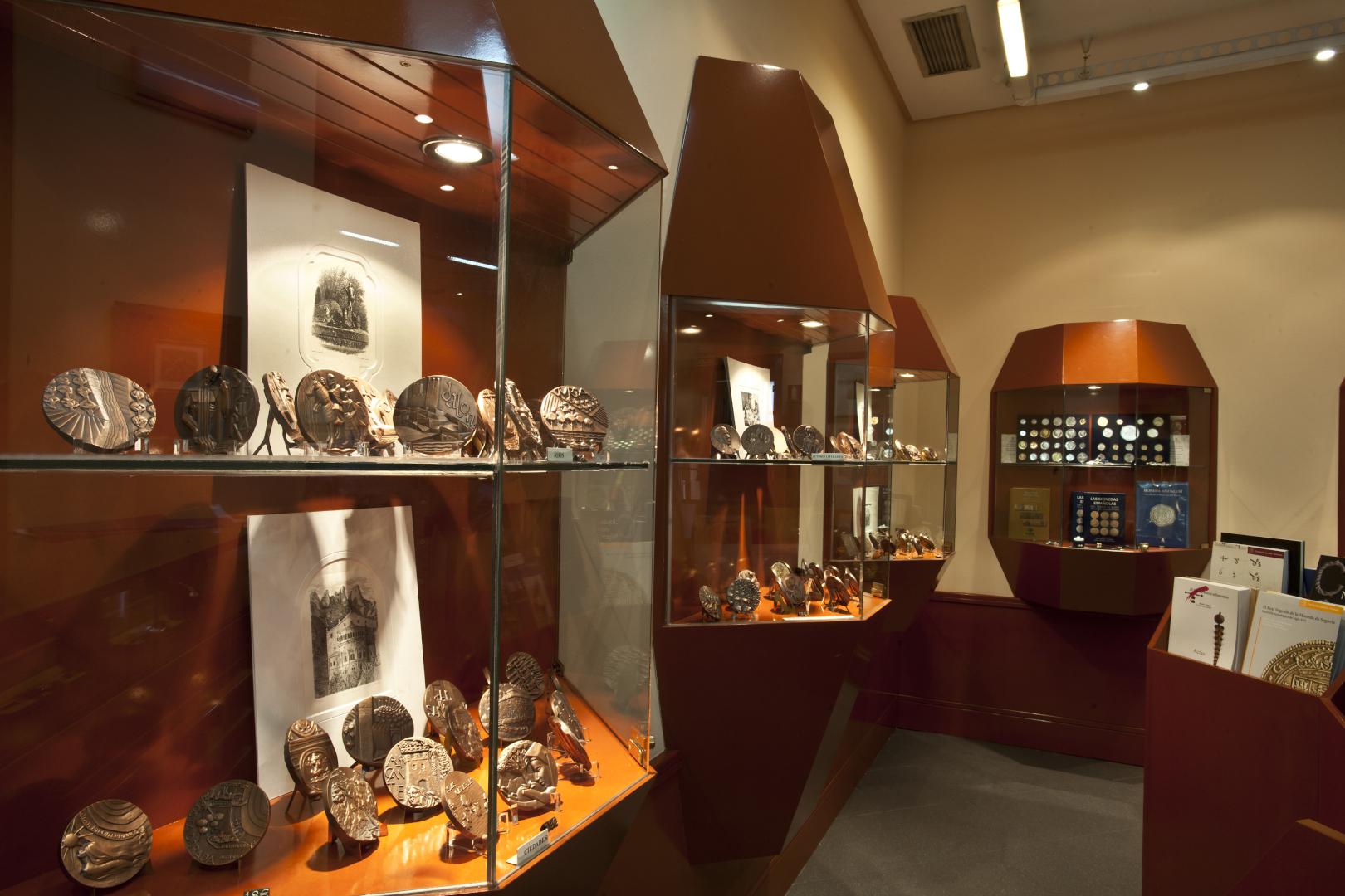 王立スペイン造幣局博物館ショップの内装
