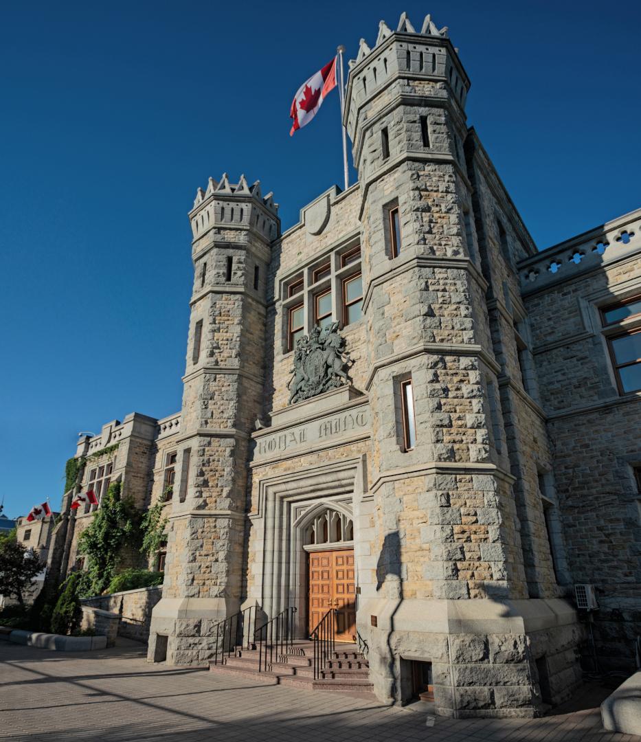 カナダ王室造幣局(オタワ市)